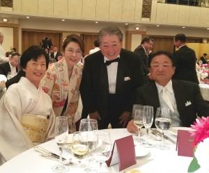 倉本プロご夫妻と淺田